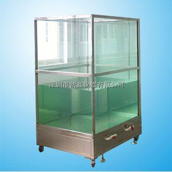 IPX7钢化玻璃结构浸水试验箱