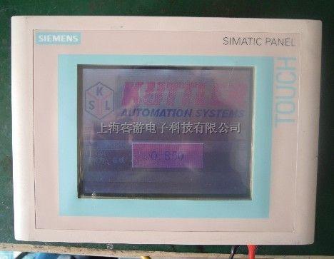 上海西门子触摸屏专业维修 6AV3627-1NK00-2AX0(TP27)、