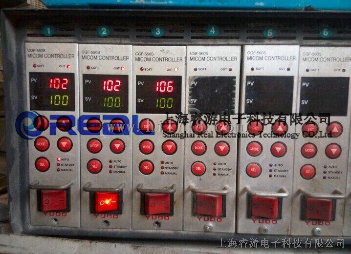 维修韩国YUDO柳道CGF-550S温控卡