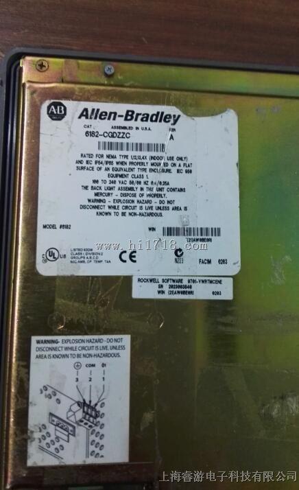 6182- CGDZZC Allen-Bradley(AB)工控机