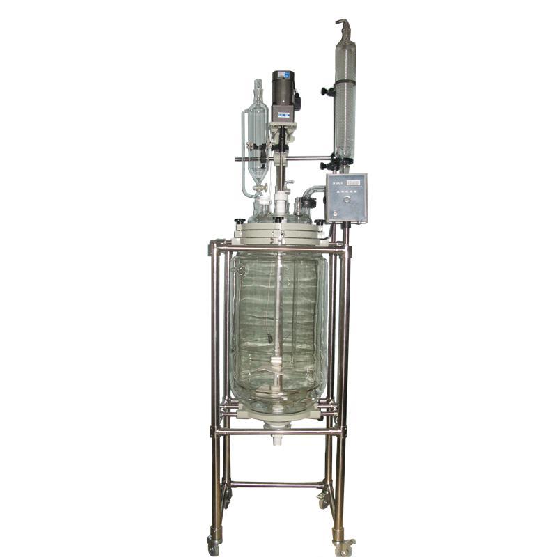安晟GSF-100L双层玻璃反应釜(出口型)